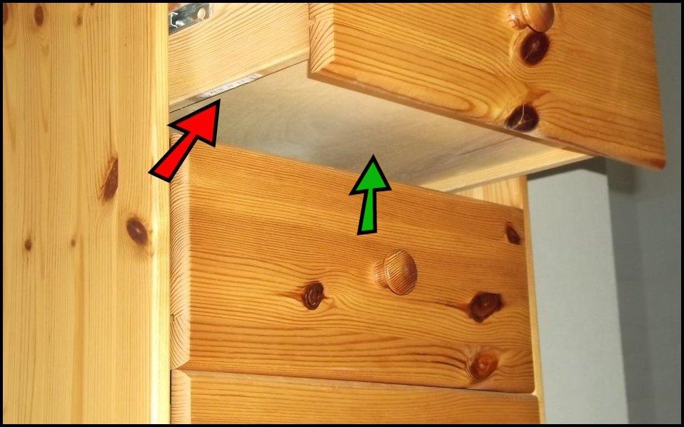 Les caches possibles 3 for Caler un meuble
